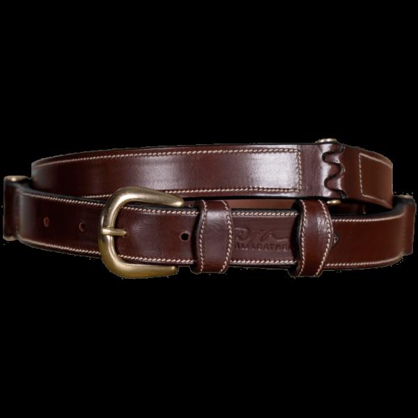 Dyon Reitgürtel RLA Flat Leather, Glattleder