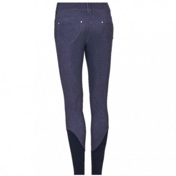Samshield Reithose Damen Judy, Vollbesatz, Full-Grip, Jeans