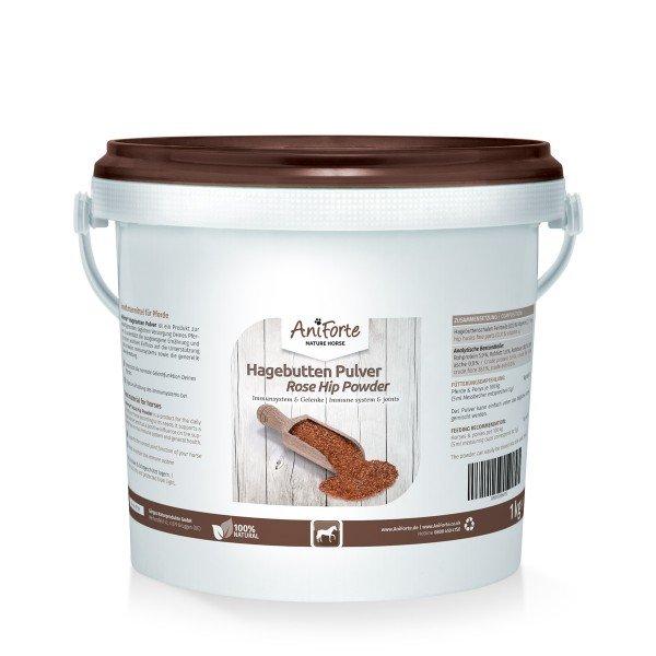 AniForte® Hagebuttenpulver für Pferde, Ergänzungsfutter