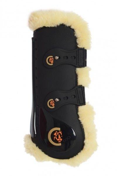Kentucky Horsewear Springgamaschen Elastic Sheepskin