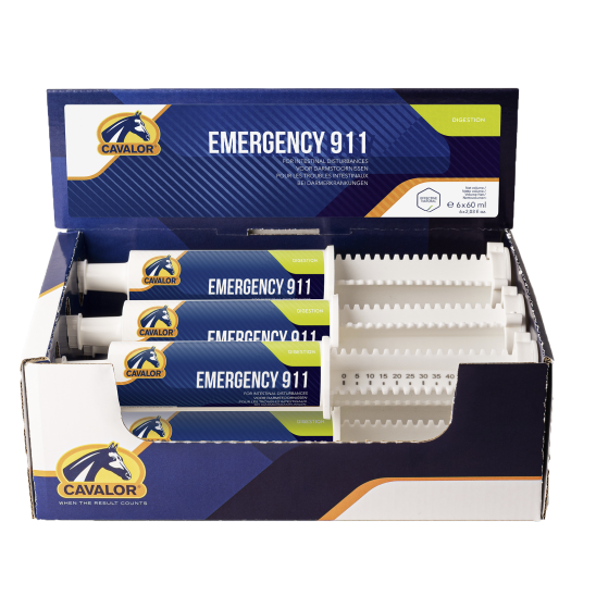 Cavalor Emergency 911, Ergänzungsfutter