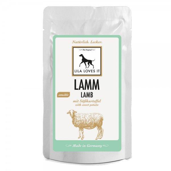 Lila Loves It Hundefutter Lamm mit Süßkartoffel, Nassfutter, sensitiv