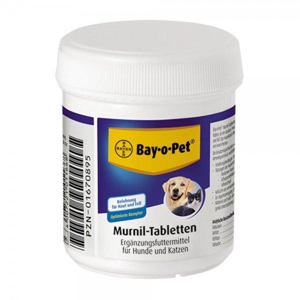 Bayer Murnil Tabletten für Hunde und Katzen, für glänzendes Fell