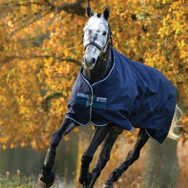 Horseware Amigo Outdoordecke Bravo 12 Lite, 0g, AARA41, blau