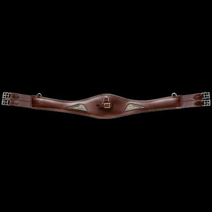 Equiline Sattelgurt Anatomic BJ109, Langgurt, Leder
