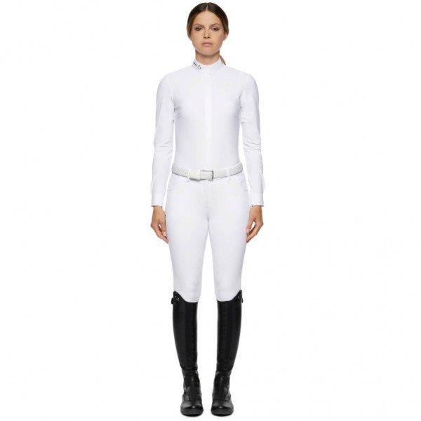 Cavalleria Toscana Turniershirt Damen R-EVO Tech Knit L/S Competition Shirt HW21, langarm