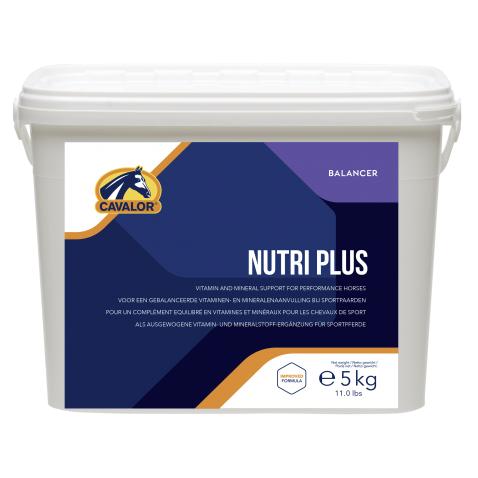 Cavalor Nutri Plus, Ergänzungsfutter