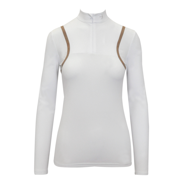 Laguso Damen Turniershirt Savanna white dots HW20, langarm