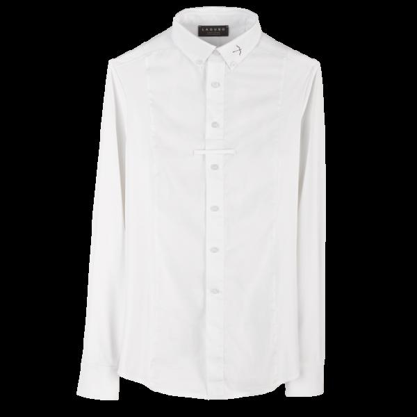 Laguso Herren Turniershirt Max, Turnierhemd, langarm