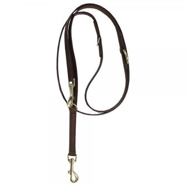 Kentucky Dogwear Hundeleine Velvet Leather, Leder
