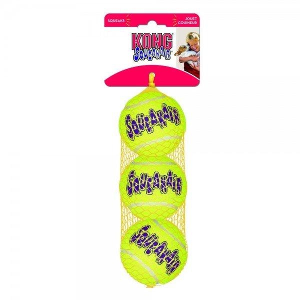 KONG Air Dog Hundespielzeug Squeakair, Tennisball