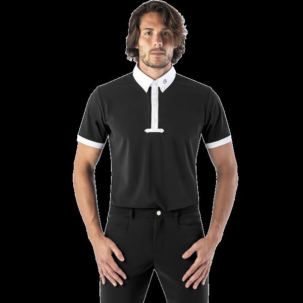 Ego7 Herren Turniershirt Polo MC, Tunierpolo, kurzarm