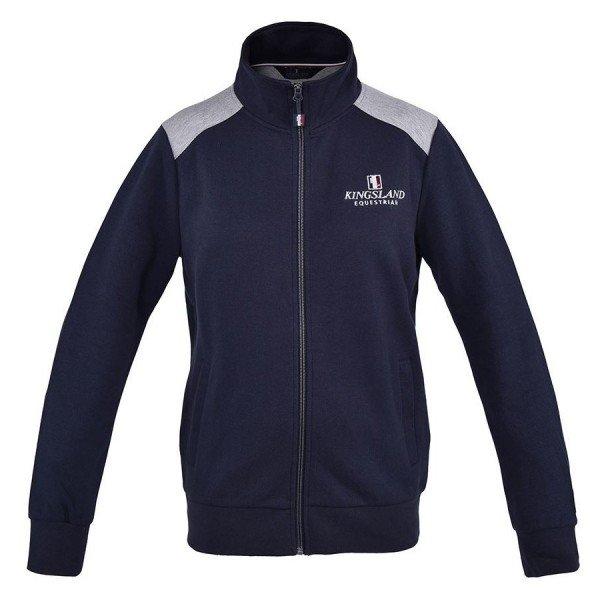 Kingsland Sweater Unisex Classic, Sweatjacke, KLC-SW-124, blau