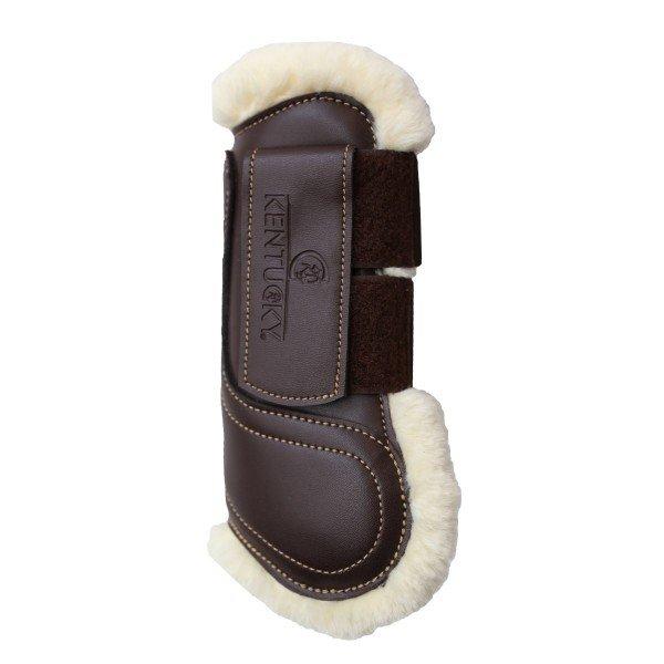 Kentucky Horsewear Lammfellgamasche mit Klettverschluss