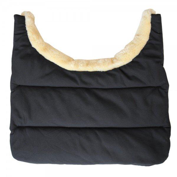 Kentucky Horsewear Brustschutz Horse BIB Winter, schwarz, blau