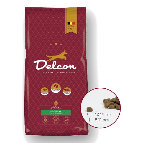 Delcon Hundefutter Heritage Regular Huhn, Trockenfutter